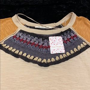 Free People Tops - Free People Spring Bound Crochet Top. S